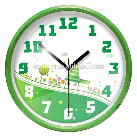 Harga Jam Tangan Merek Oem gambar kartun analog jam dinding hadiah promosi jam