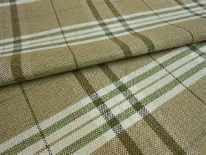modern tartan plaid brown olive green