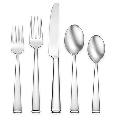 bed bath and beyond flatware oneida 174 perry 45 piece flatware set bed bath beyond