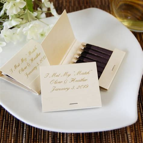 Wedding Favors Matches by Personalized Matches