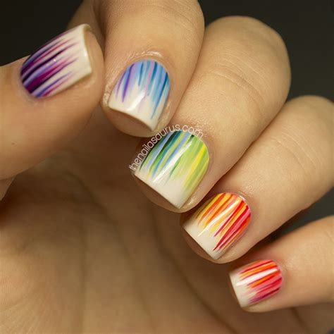Nail Also Search For 31dc2013 Day 9 Rainbow Nails The Nailasaurus Uk Nail