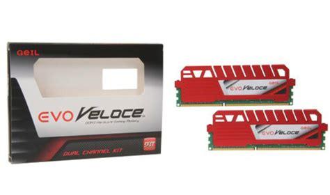Memory Pc Geil Ddr3 Evo Veloce Pc12800 Dual Channel 16gb geil evo veloce series 8gb 2 x 4gb 240 pin ddr3 sdram