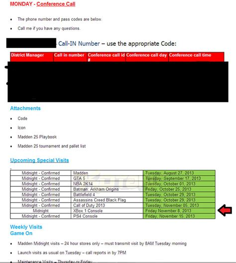 email xbox xbox one slated for nov 8 launch in leaked email report