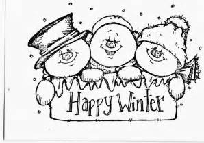 Coloring pages printables cute snowman coloring pages printable