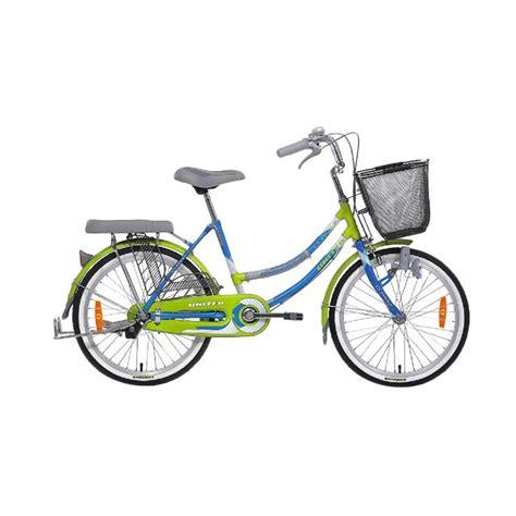 Keranjang Sepeda jual united class x sepeda keranjang biru hijau 26 inch
