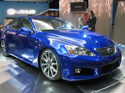 lexus sports car blue file lexus is f ultrasonic blue metallic jpg wikimedia