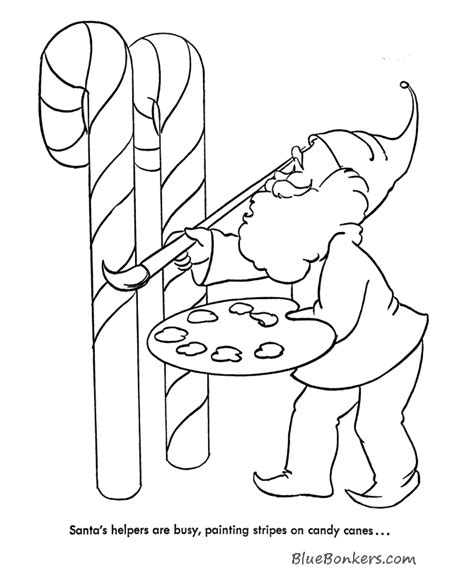 coloring pages of santa s workshop santa workshop elves coloring pages coloring pages