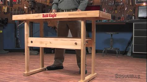 the work bench brownells bald eagle precision products work bench youtube