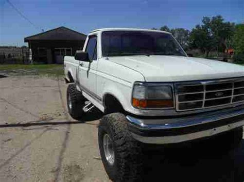 automobile air conditioning service 1992 ford f150 transmission control purchase used 1992 ford f150 xlt 302 v8 auto 4x4 in wichita kansas united states