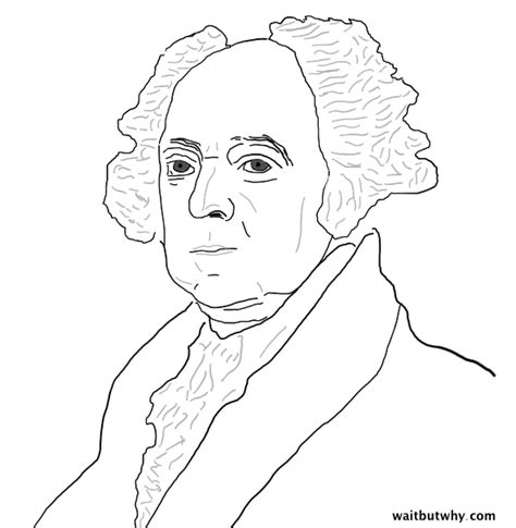 john adams drawing the american presidents washington to lincoln wait but why