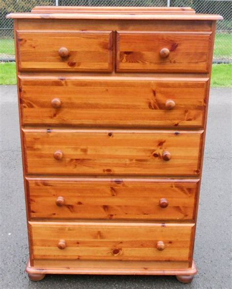 Dresser And Chest Of Drawers by Pine Chest Of Drawers Sold