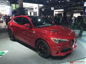 Alfa Romeo Truck La Auto Show 2016 505hp Alfa Romeo Stelvio Qv Gtspirit