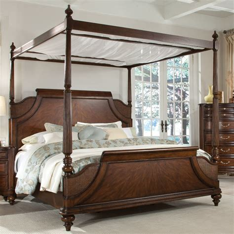 king canopy beds tranquil bay eastern king canopy bed beds by modern