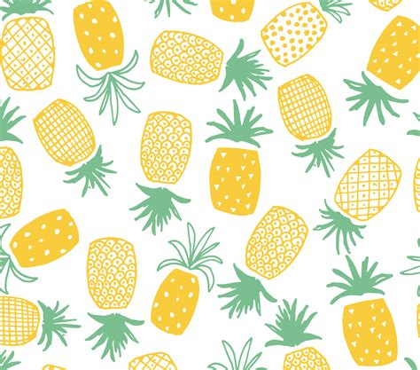 pineapple pattern hd pineapple print seamless pattern patterns and prints
