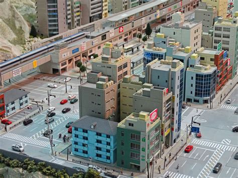japanese town miniature worlds wroxham