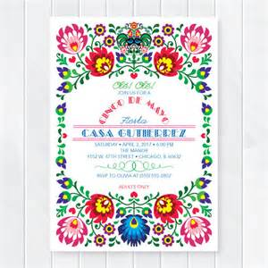 cinco de mayo invitations mexican invites