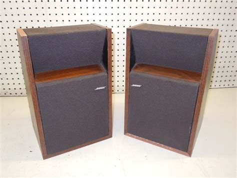 lot of 2 bose 201 series ii bookshelf speakers ebay