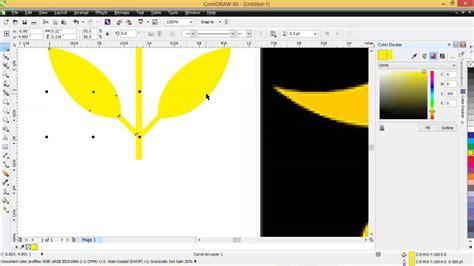membuat majalah dengan coreldraw x6 zulbmohd cara membuat logo pks dengan coreldraw x6 youtube