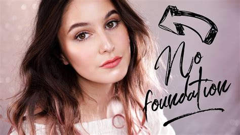 no foundation makeup routine karima mckimmie