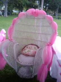 Pink baby shower chairs for pinterest