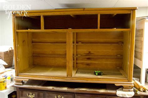Repurposed Dresser into Tool Chest   The Golden Sycamore