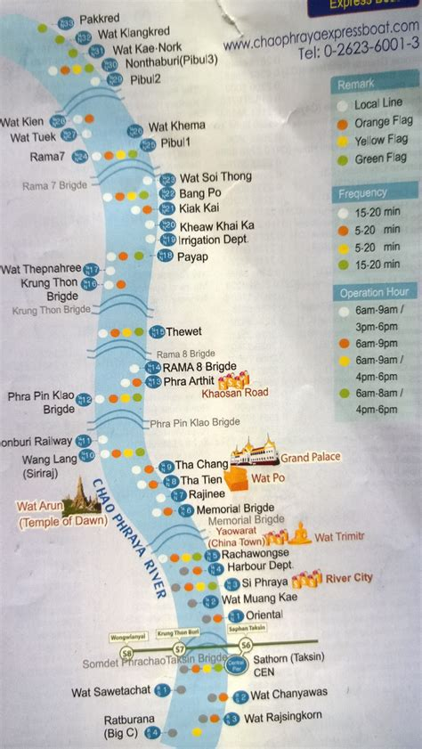 chao phraya express boat route getting around bangkok by boat routes and trips