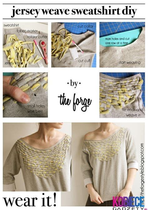Diy Clothing Ideas by 24 Stylish Diy Clothing Tutorials Style Motivation