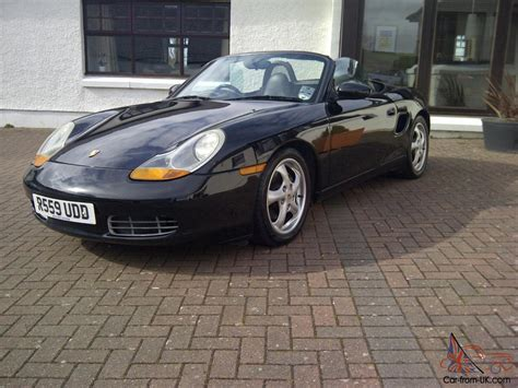 1997 porsche boxster in colac vic justcars com au 1997 porsche boxster roadster black black leather