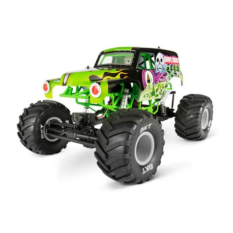 grave digger rc truck axial 90055 smt10 grave digger jam truck 1 10