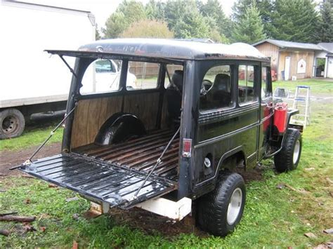 jeep station wagon for sale willys wagon for sale 1956 willys jeep wagon 4 000 add