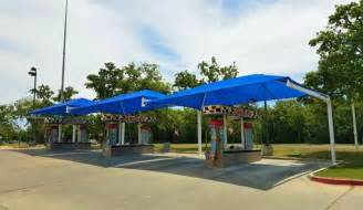 Permanent Shade Canopy by Playground Shade