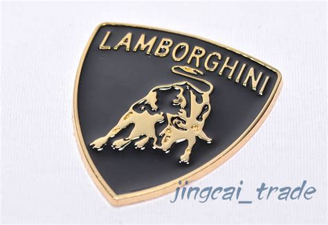 Lamborghini Stickers Lamborghini Style Bull Fighting 3d Car Auto Emblem Badge