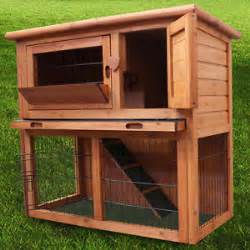 2 Tier Rabbit Hutch 3ft Rabbit Hutch Ferret Cage Pets House Deluxe Pet
