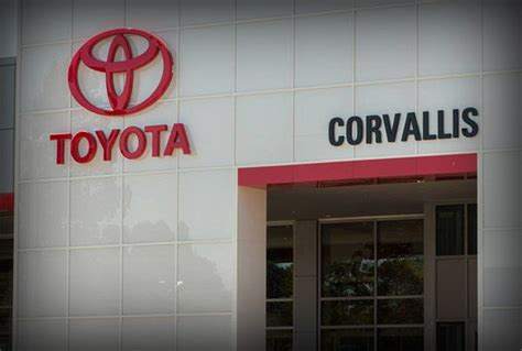 Toyota Of Corvallis For Your Corvallis Or Chamber Of Commerce