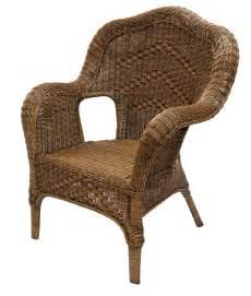 Vintage Wicker Chair » Home Design 2017