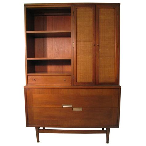 credenza dining room mid century modern walnut dining room cabinet credenza by