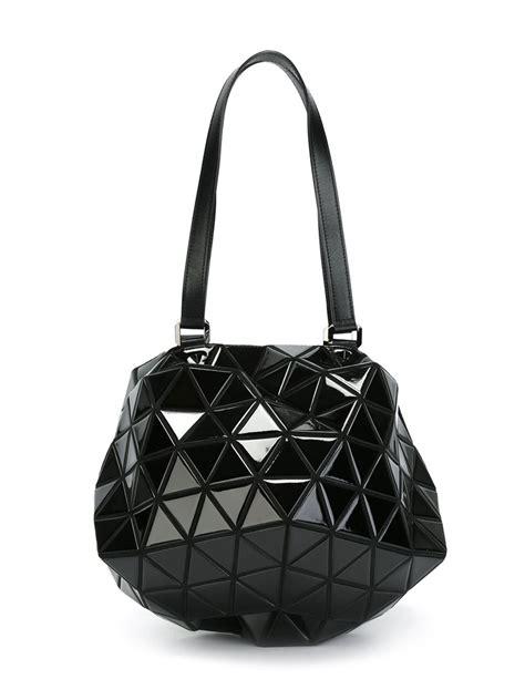 Bao Bao Bag bao bao issey miyake planet shoulder bag in black lyst