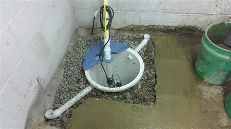 Basement Waterproofing   Waterproofing a Basement and