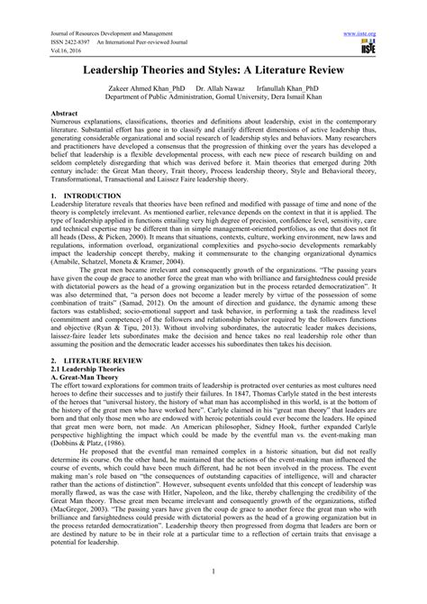 contemporary literary theory pdf pdf leadership theories and styles a literature review