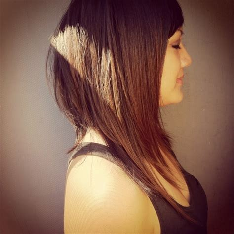 long hair with extreme layers extreme shattered angled bob hair beauty pinterest