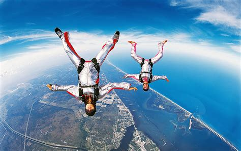 parachute dive wallpapers skydiving
