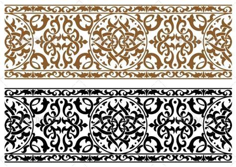 arabic pattern border abstract arabic ornament by seamartini graphicriver
