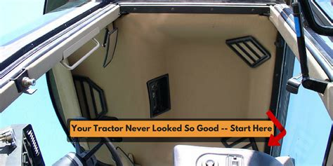 tractor interior upholstery tractor interior upholstery llc cab kits tractor