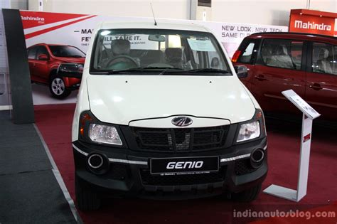 lada genio mahindra genio front at the 2014 colombo motor show sri