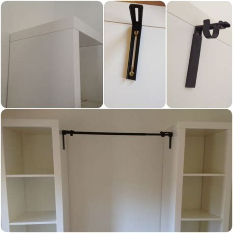 closet curtain rod curtain rods closet and curtains on pinterest