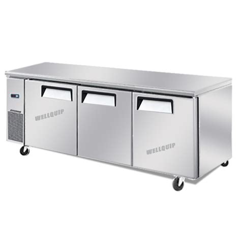 bench freezer buy commercial 3 door commercial kitchen working bench