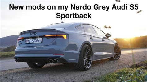 nardo grey s5 mods on my nardo grey audi s5 sportback