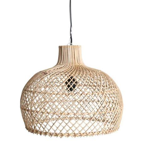 Wicker Pendant Lights Oneworld Interiors Rattan Pendant L Naturel 216 39cm Interiors