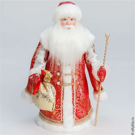 Handmade Santa Dolls - handmade santa doll shop collectibles daily