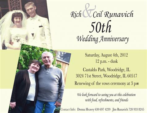 Wedding Anniversary Invitation Cards Sles by 25th Wedding Anniversary Invitation Wording Sles